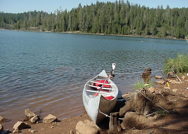 Trout fishing in the sierra nevada mountains of california for Trout fishing southern california