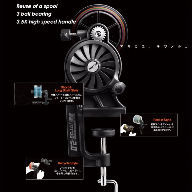 how to use overhead reel