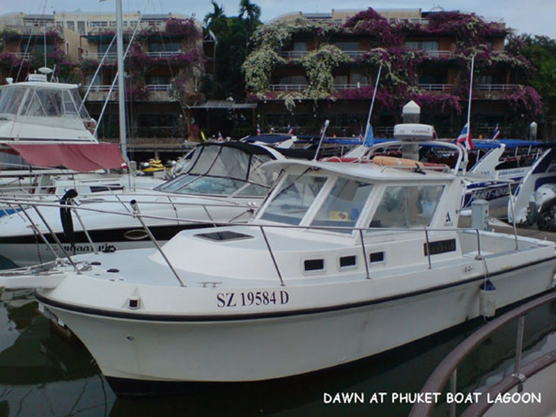 A Dream Voyage from S'pore to Phuket on Genesis (Albin 28